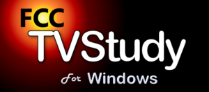 FCC TVStudy Windows Implementation