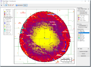 TVStudy Mapper Software - Generate Maps Based on Output of the FCC's TVStudy Program