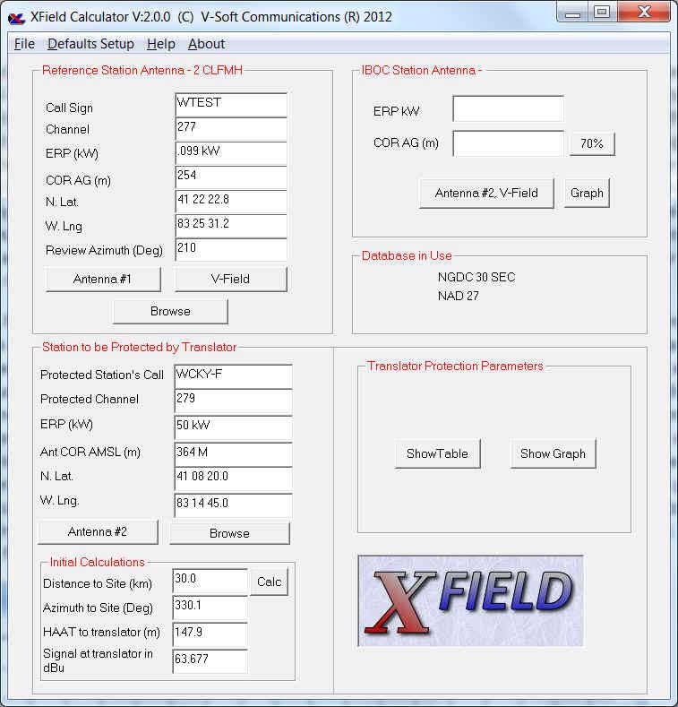 XField | V-Soft Communications Propagation & FCC Allocation
